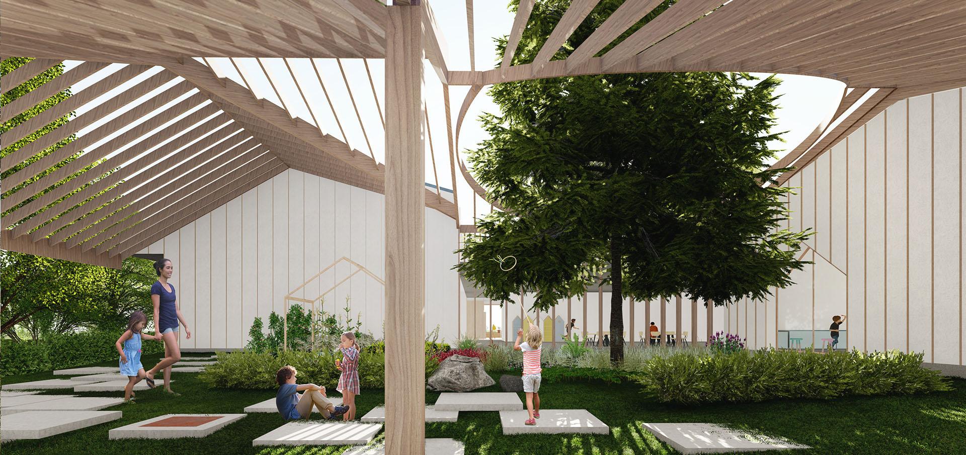 sastudio architecture kindergarden school prague tiago sá