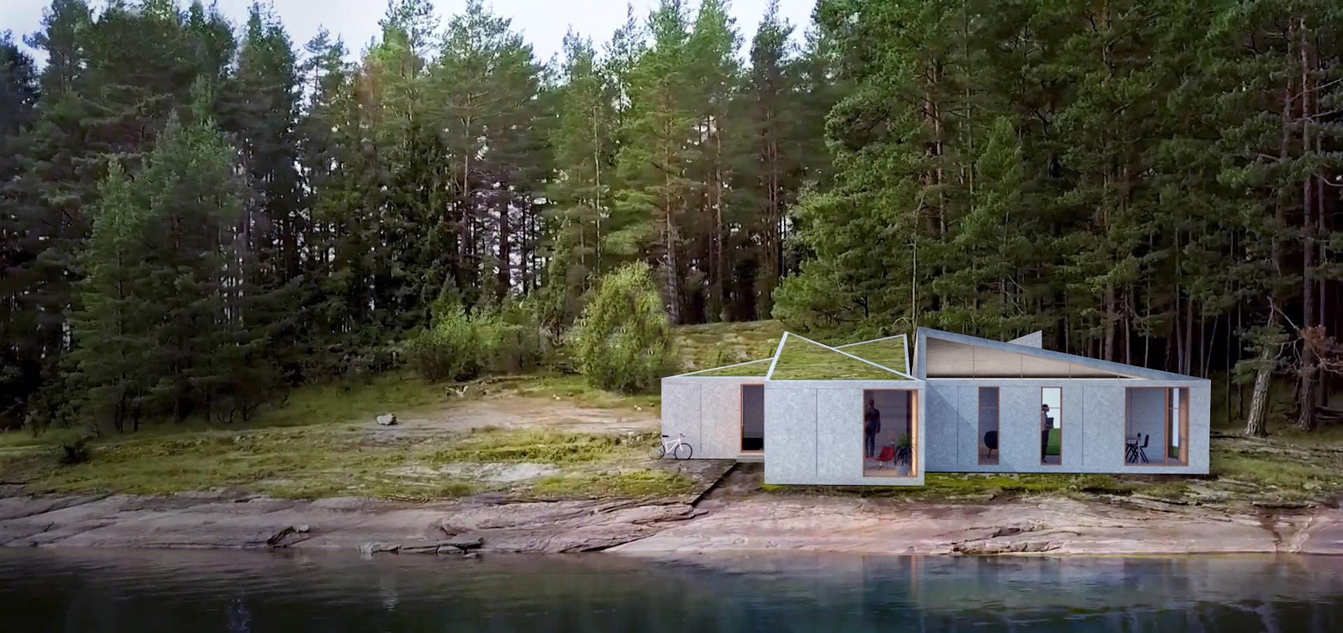 sastudio tiago sá origami sustainable house casais architecture arquitetura