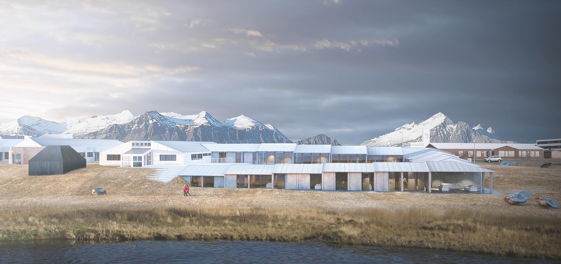 sastudio architecture iceland senior center