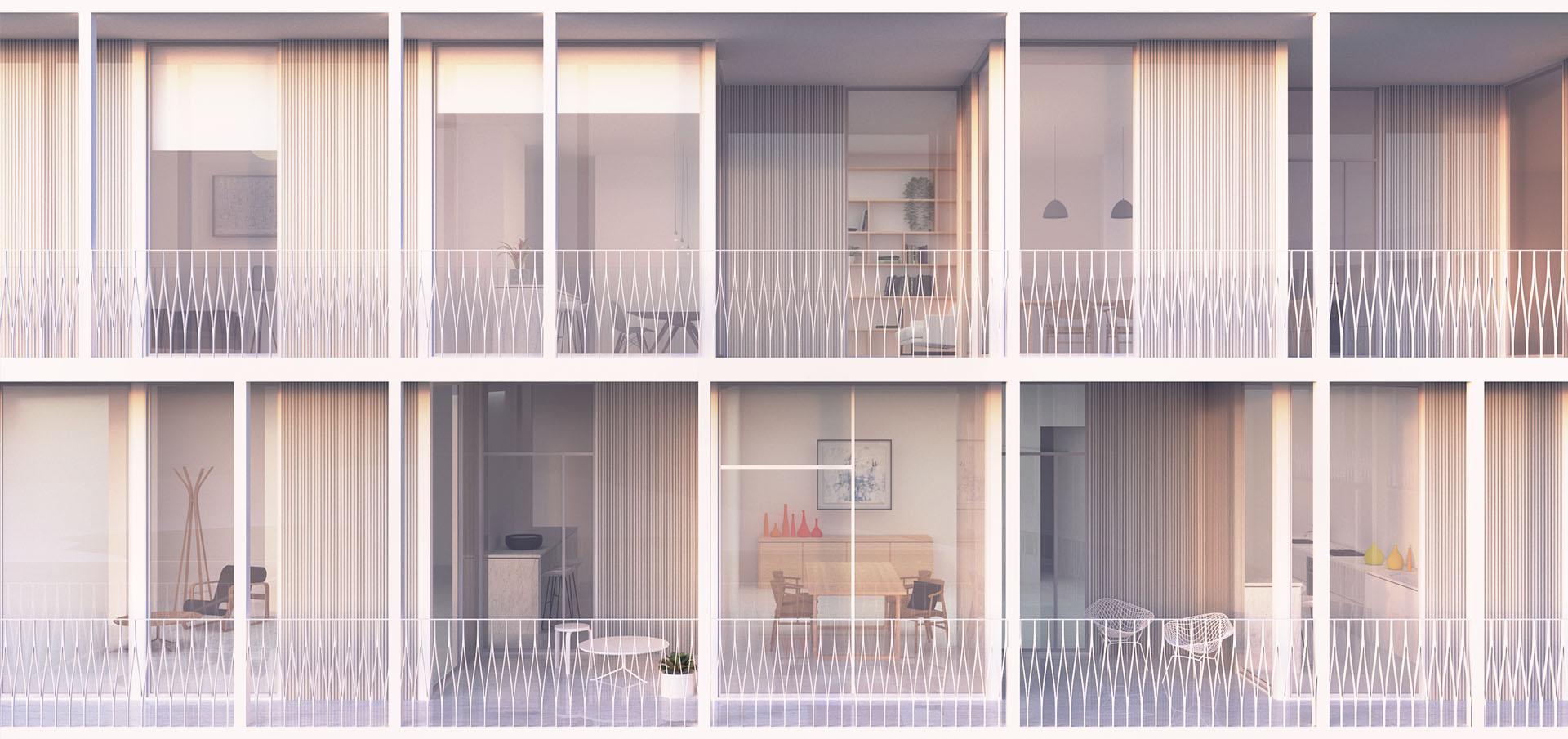 sastudio competition cascais housing architecture