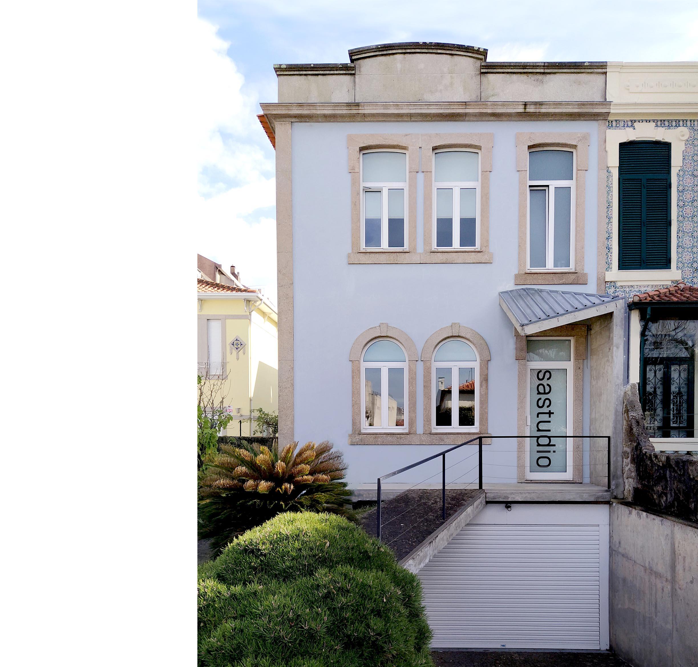 sastudio architecture office porto portugal