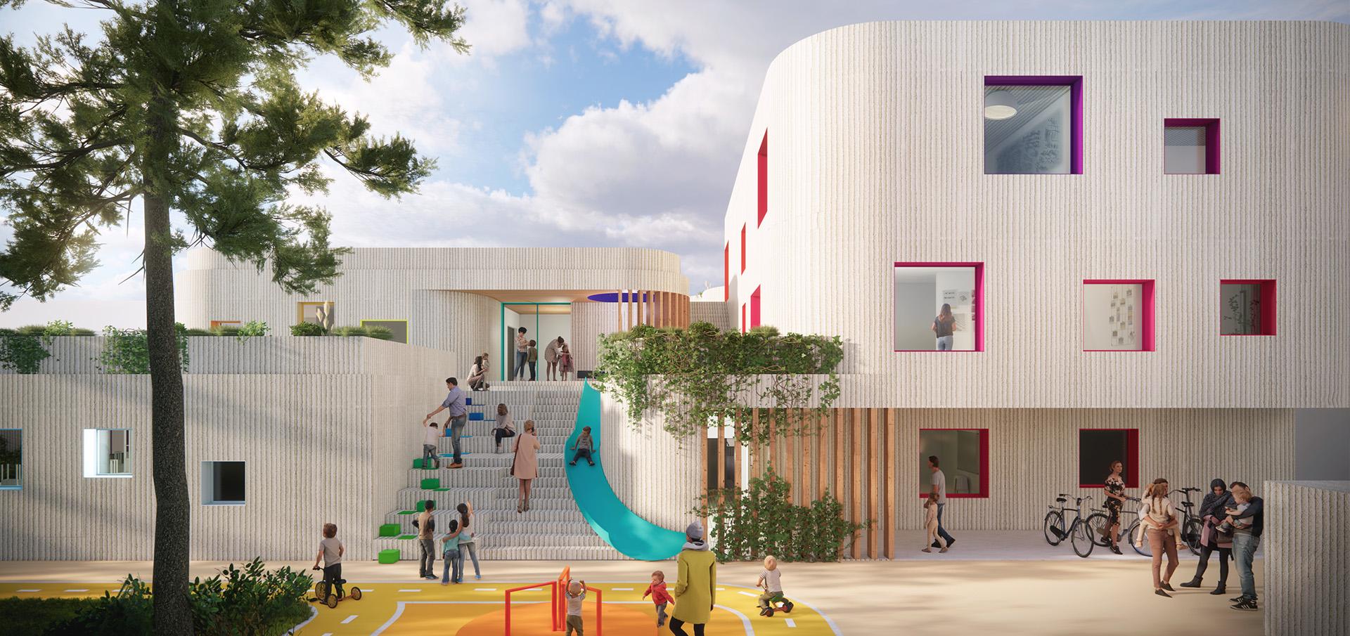 sastudio Tiago Sá architecture iceland kindergarten purchased husavik award mention arquitetura