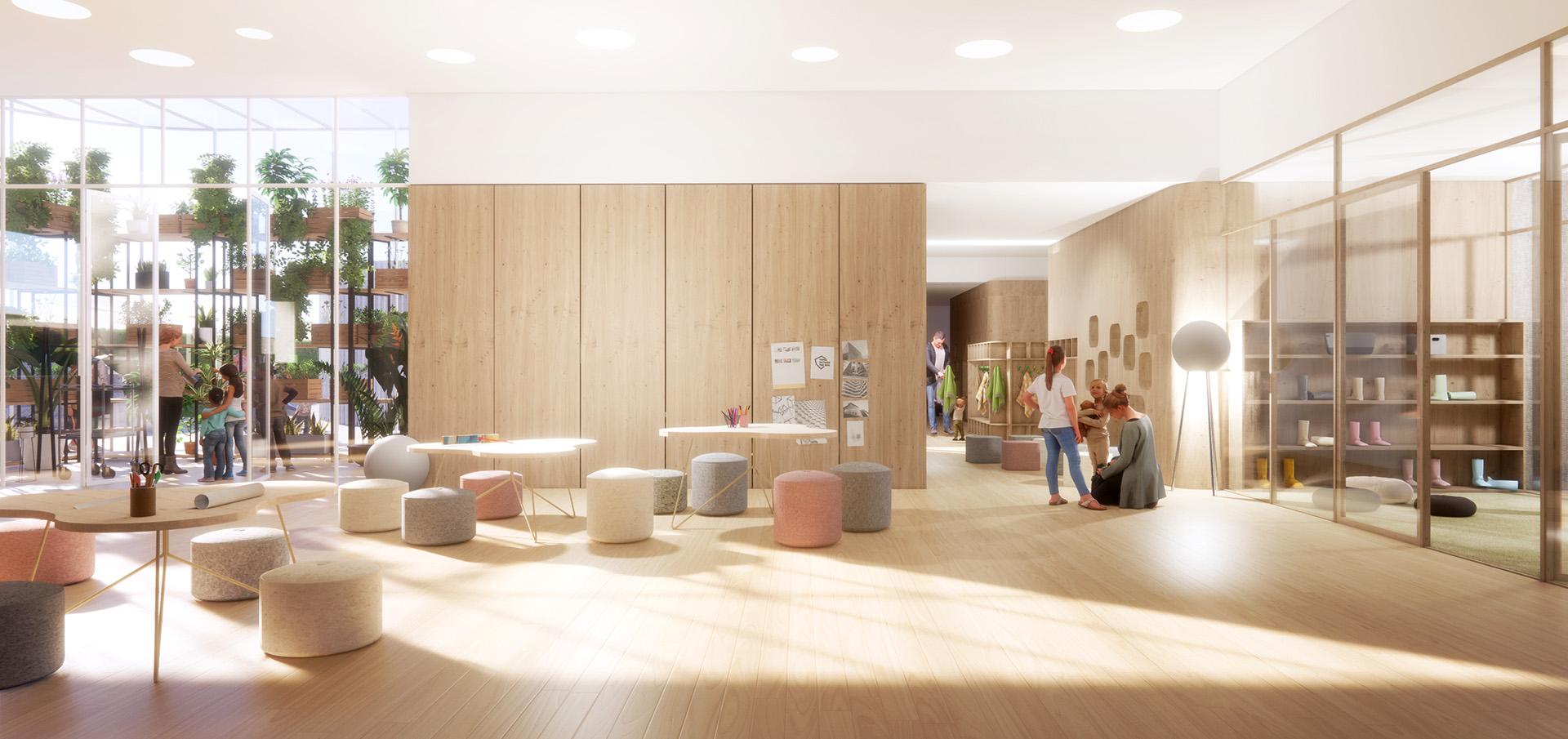 sastudio Tiago Sá architecture iceland winner first prize 1st kindergarten award mention arquitetura
